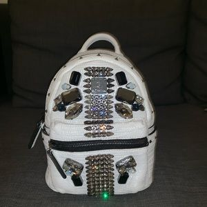 MCM Backpack Mini Crocodile